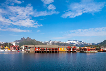 Daytime in Svolvaer, Lofoten Islands, Norway