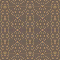 Vector background pattern made of a simple geometric figure