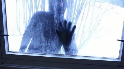 Burglar at Door