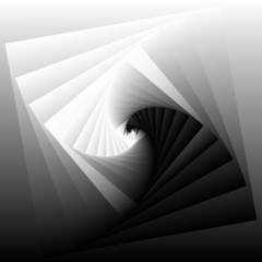 vector background with abstract geometry