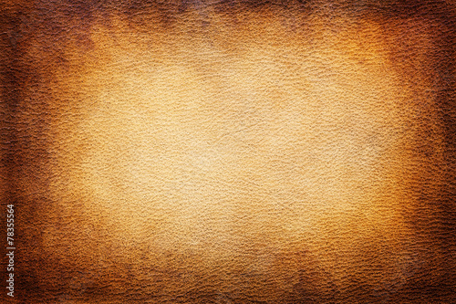 Foto op Canvas Stof Leather texture background