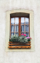 A window in old house