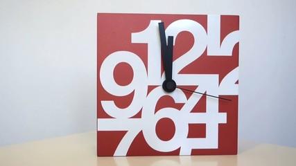 Clocks time-lapse