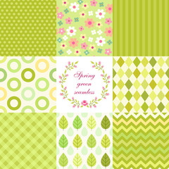 Set of seamless patterns 1