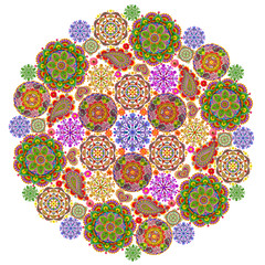 Mandala from mandalas