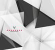 Zdjęcia na płótnie, fototapety, obrazy : Triangular modern abstract background