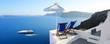 Leinwanddruck Bild - Grèce - Santorin