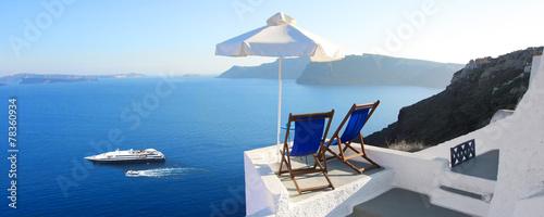 Leinwanddruck Bild Grèce - Santorin