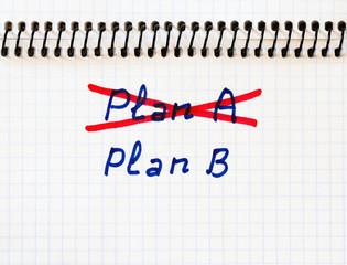 Plan A failed, we need plan B