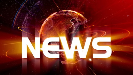 News Earth animation + By VideomaticHD