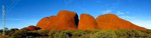 Aluminium Australië Olgas, Kata Tjuta, Nothern Territory, Australia