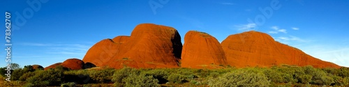 Leinwandbild Motiv Olgas, Kata Tjuta, Nothern Territory, Australia