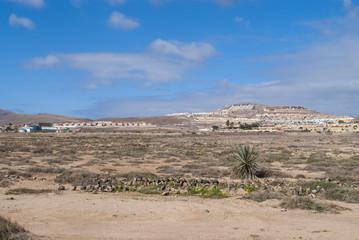 Resort Town on Fuerteventura