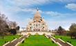 Basilica of Sacre-Coeur in Montmartre, Paris