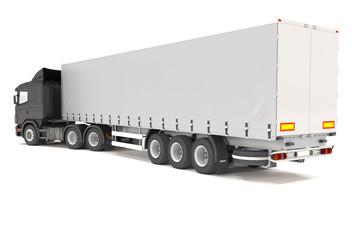cargo truck - black - shot 10