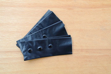 black plastic bag for planting