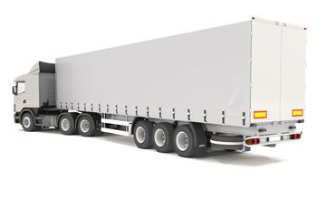 cargo truck - silver - shot 14