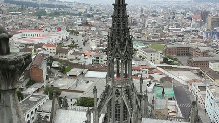 The Basilica del Voto Nacional, Quito, Ecuador