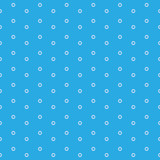 Circle seamless pattern. Vector background