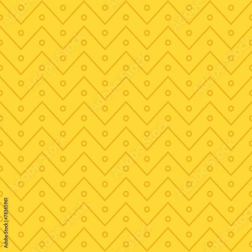 Zig zag seamless pattern. Vector background - 78365961