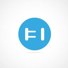 icône branchement électrique