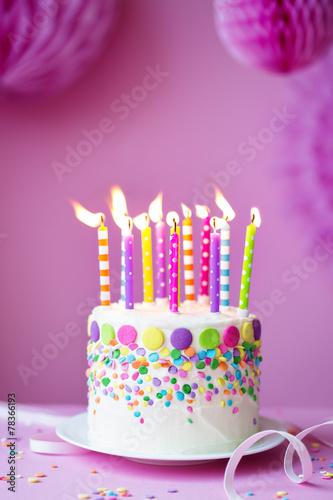 Birthday cake - 78366193
