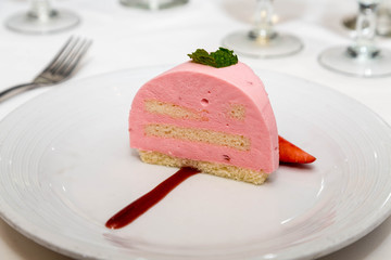 Pink Chiffon and Cake Pastry