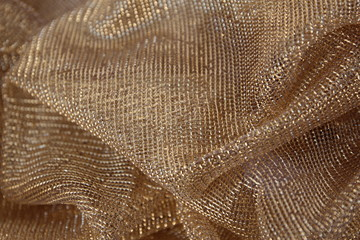 The Gold network, as well as fabric.