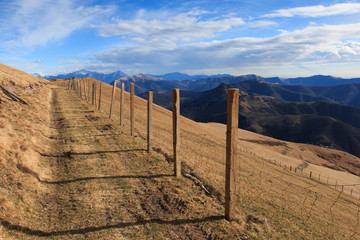 escursione invernale sul monte Generoso