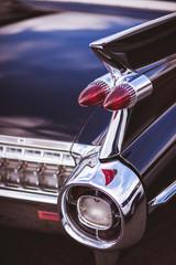 Back of old  vintage car