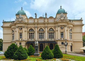 Juliusz Slowacki Theater in Krakow, Poland.