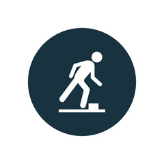 watch your step icon