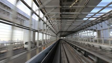Monorail in Japan
