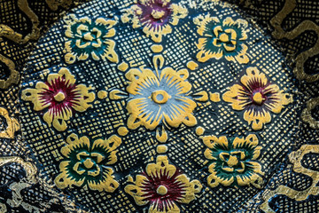 Traditional floral patterns