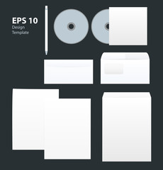 Corporate style design template.
