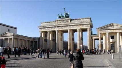 Berlin Brandenburger Tor vid 01