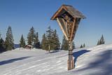 Wegkreuz in den Tegernseer Alpen