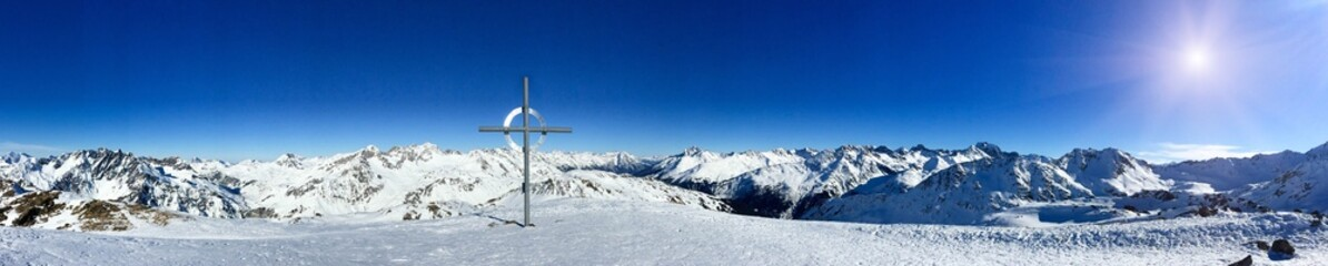 Panorama Berggipfel