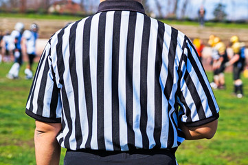 Referee of the football match