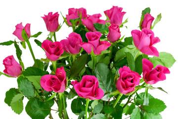 Blumenstrauß aus rosafarbenen Rosen
