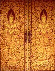 Thai Line art door