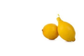 Zitrone mit Deckel