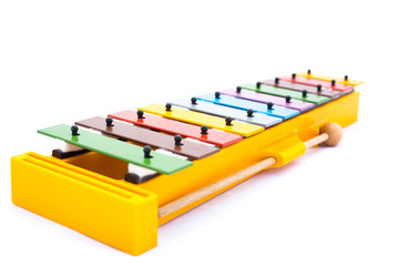 Musical instrument: colorful Xylophone