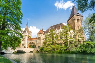 Budapest Vajdahunyad-Burg