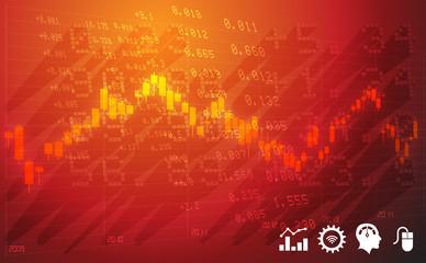 Stock Market Abstract - Illustration