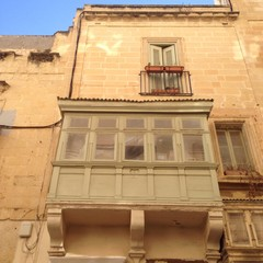 Bow window à Malte