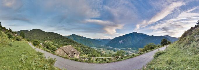 Buesa valley near Ordesa y Monte Perdido National Park