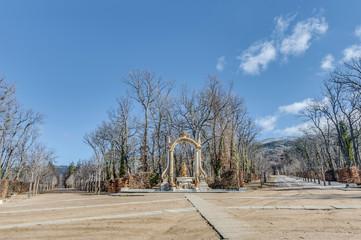 Cibeles fountain at La Granja Palace, Spain