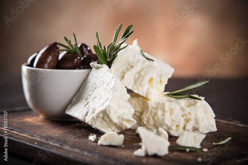 Greek cheese feta - 78383707