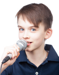 Kid with mic